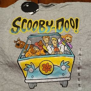 NWT Official Scooby Doo Novelty Shirt XL
